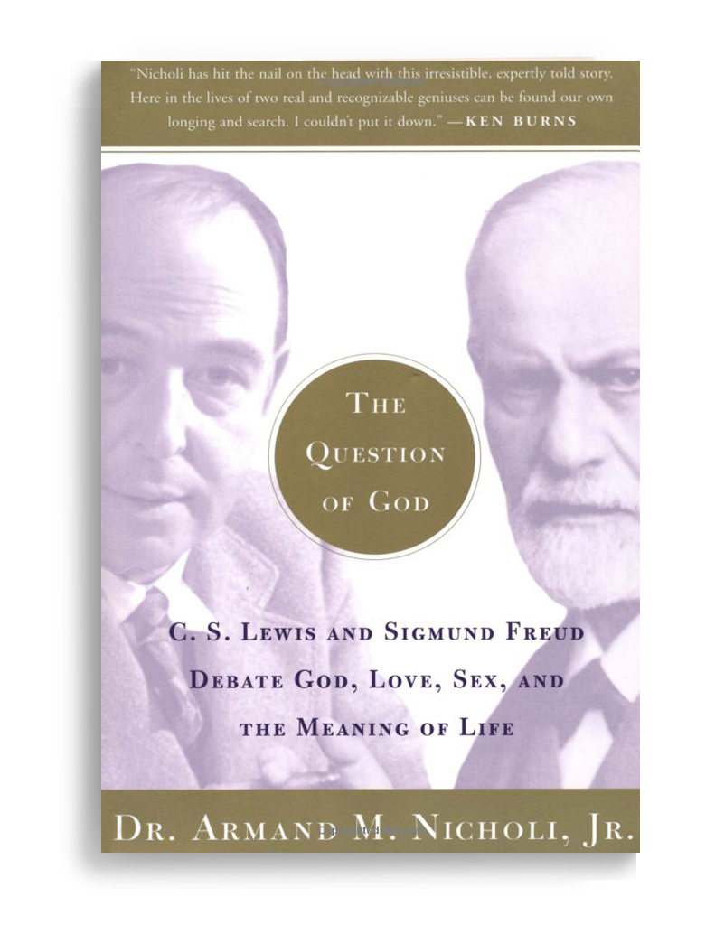 lewis vs freud does god Cs lewis, sigmund freud and the holy trinity cs lewis famously likened the task of christian to freud, god is an illusion based on the infantile.